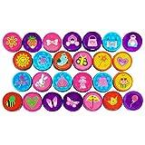 Oblique Unique® - Prinzessin Stempelset 26 Stück - Kinder Mädchen Stempel - Selbstfärbend