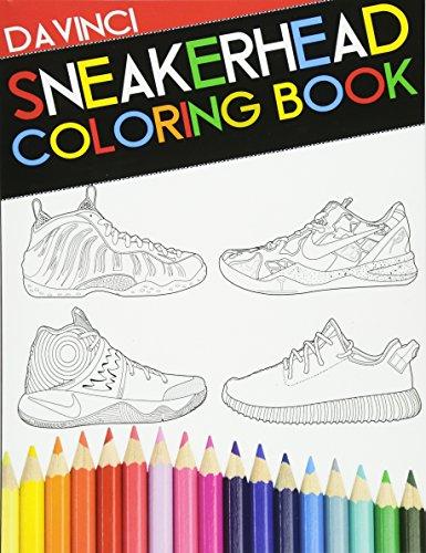 Sneakerhead Coloring book por Davinci