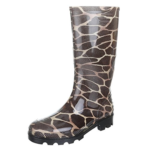 Women's Shoes, GST F901P Rain Boots Wellington Boots