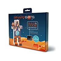 BinaryBots Dimm - The smart toy robot that teaches coding - While having fun with the BBC Microbit | Age 8 Years and Up