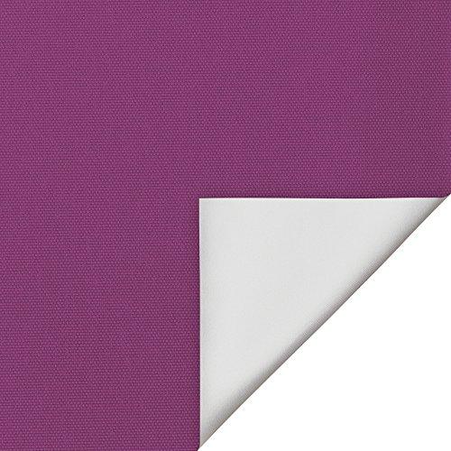 Wohn-Guide RKV.100.150.07 - Estor (sistema de fijación sin tornillos, revestimiento plateado), color fucsia