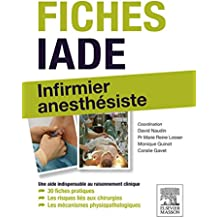 Fiches IADE: Infirmier anesthésiste