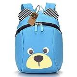 Kinderrucksack TEAMEN Anti verloren Kinder Rucksack Mini Bär Schule Tasche für Baby Jungen Mädchen Kleinkinder 1 - 3 Jahre