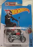 Honda Monkey Z50 Hot Wheels 2016 HW Moto 1:64 Scale Collectible Die Cast Metal Toy Car Model #5/5 on International Long Card by Honda Monkey Z50