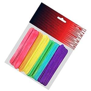 Pryse 5110052–Pack di 50mazze da Polo, 114x 10x 2mm, Multicolore