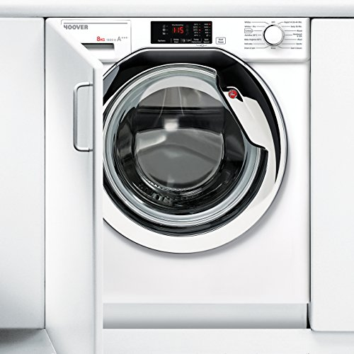 Hoover HBWM814DC A+++ Rated Built-In Washing Machine - White
