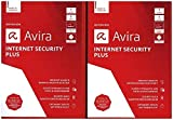 Avira Internet Security Plus 2018-1+1 Special Vollversion, 2 Lizenzen Windows Antivirus, Sicherhei