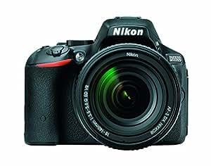 Nikon D5500 DX-Format Digital SLR with 18-140mm VR Kit (Black), CAMERA BAG with 16GB Class10 Memory Card