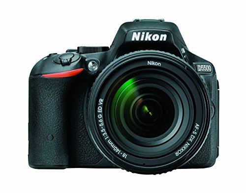 Nikon D5500 DX-format Digital SLR Body (Black)