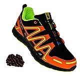 art 735 Neon Turnschuhe Schuhe Sneaker Sportschuhe Neu Herren, Schuhgröße:41