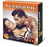 Más Playgard Juega Superdotted condones - 3 Count (paquete de 10, de Orange)