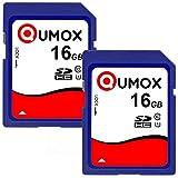 QUMOX 2x16GB SDHC 16GB classe 10 UHS-I Scheda di memoria digitale sicura
