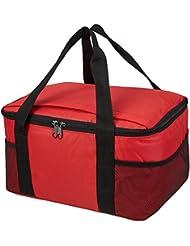 Praktische, leichte Kühltasche mit großem Hauptfach und 2-Wege Reißverschluss