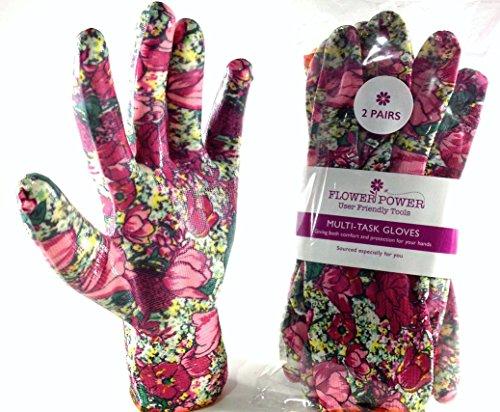 2Paar Damen Gartenarbeit Handschuhe–leicht und langlebig Arbeitshandschuhe für Frauen–Perfekt für den Garten und Haushalt Aufgaben–Ideal Geschenk für Damen. Kauf auf Verkauf Jetzt