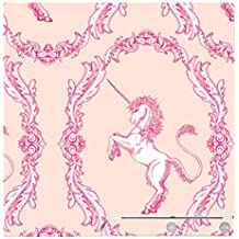 'Disagu SF de SDI de 3370_ 1128Diseño Protector de pantalla para Sony PS3Slim Controlador con–Diseño Unicornio Clásico patrón color rosa transparente