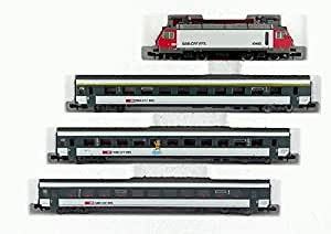 Roco 21027 Schweizer Zugpackung mit Re4/4 4teilig