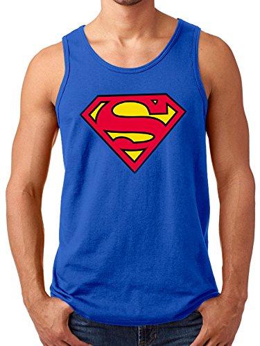 CID Superman-Logo Jacke Mann S Mehrfarbig