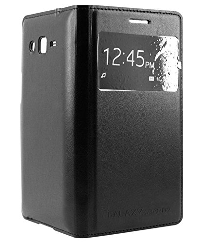 XRIS Original flip cover / Case for Samsung Galaxy Grand 2 SM-7102 / 7106 - Black  available at amazon for Rs.145