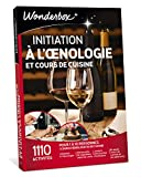 wonderbox - coffret cadeau vin - initiation a l'œnologie et cours de cuisine - 1110 cours