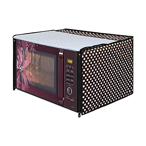 Lithara Colored Printed Microwave Oven Cover for LG 32 Litre MJ3286BRUS