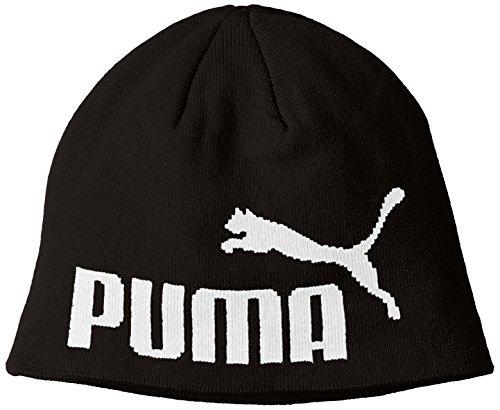 PUMA Erwachsene ESS Big Cat Mütze, Black, One Size