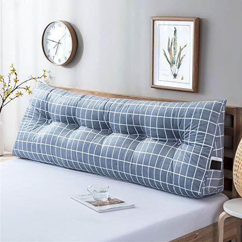 YAHAO Wedge Pillow Kissen Lesen Kissen Rückenkissen Nackenrolle Hals Ergonomisches Für Sofa Bett Rückenlehne,D-200 * 50cm