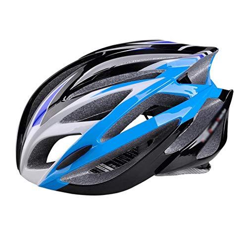 XGHW Fahrradhelm, Herren und Damen Mountainbike Reithelm Helmausrüstung Starke Schlagfestigkeit (Farbe : 5, größe : 57-63cm)