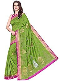 d724a9c8f2a Amazon.in  Greens - Silk Sarees  Clothing   Accessories