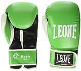 Leone 1947 Flash, Guantoni da Boxe Unisex-Adulto, Verde, 10 oz