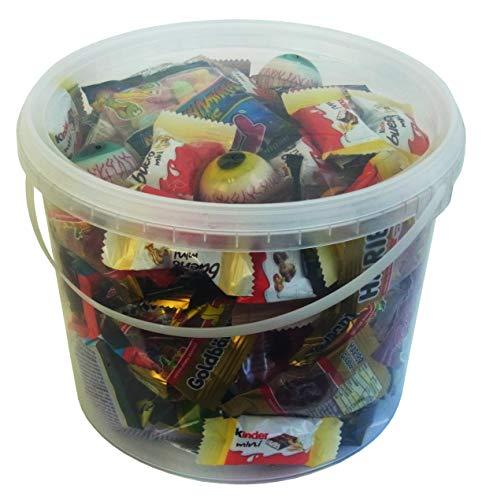 Horror Halloween Party Bucket mit schaurigen Süßigkeiten, 1er Pack (1 x 1kg) - 5