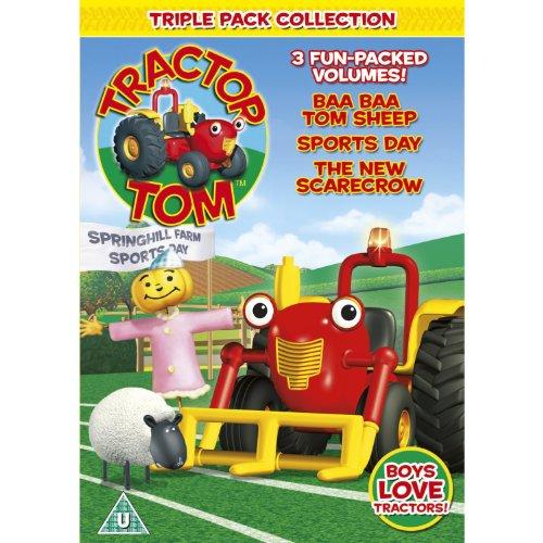 Triple - Baa Baa Tom Sheep / Sports Day / New Scarecrow