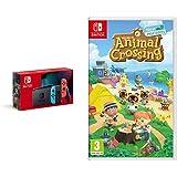 Nintendo Switch Néon + Animal Crossing : New Horizons