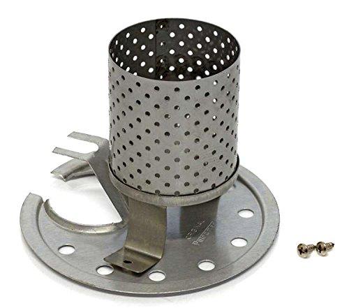 Petromax Radiatoren & Prallteller Set HK350/HK500 für Lampen ab Bj. 2000 (BW-Matt)