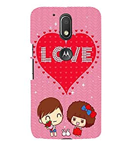 FUSON Love Card Design 3D Hard Polycarbonate Designer Back Case Cover for Moto G Play (4th Gen) :: Motorola Moto G4 Play