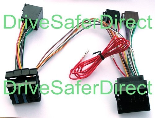 INKA-902885-00-3D ISO SOT Mute Lead for Parrot CK3100, CK3200, MKi9100, MKi9200 and...