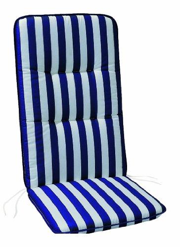 Best Housse de chaise haute 120 x 50 x 6 cm blanc
