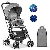 Besrey Stroller Lightweight Travel Buggy Foldable Baby Pushchair - Grey