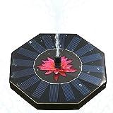 MRCARTOOL Wasserpumpe, Solarbrunnen Pumpe Kreis Garten Solar Power Schwimmende Brunnenpumpe für Outdoor Bewässerung Tauchpumpe für Teich, Pool, Garten, Aquarium, Aquarium