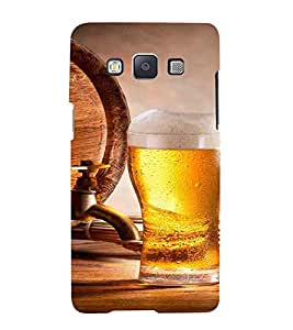 Cold Drink, Grey, Drink Patterns, Lovely pattern, Printed Designer Back Case Cover for Samsung Galaxy A3 (2015) :: Samsung Galaxy A3 Duos (2015) :: Samsung Galaxy A3 A300F A300Fu A300F/Ds A300G/Ds A300H/Ds A300M/Ds