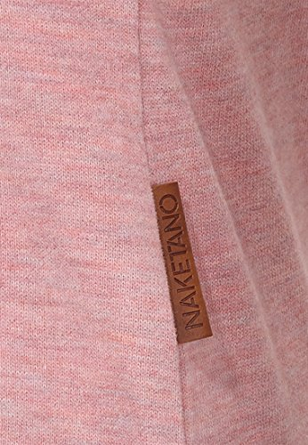 Naketano Female Sweatshirt Krokettenhorst Schmutzmuschi Pink Melange, M - 4