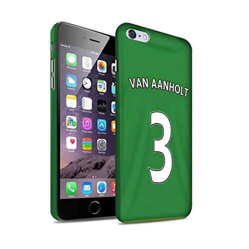 Offiziell Sunderland AFC Hülle / Matte Snap-On Case für Apple iPhone 6S+/Plus / Pack 24pcs Muster / SAFC Trikot Away 15/16 Kollektion Van Aanholt