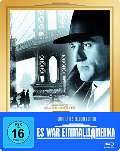 Bild von Es war einmal in Amerika Extended Cut Steelbook (exklusiv bei Amazon.de) [Blu-ray] [Limited Edition]