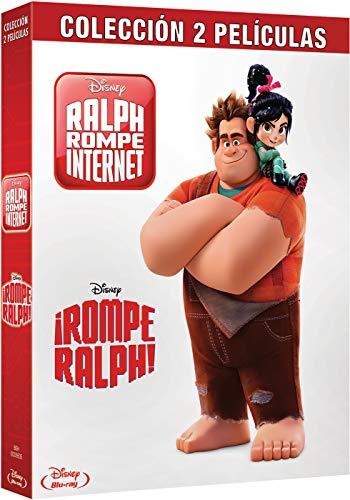 Pack Bd Rompe Ralph 1+2 [Blu-ray]