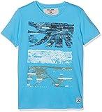 Garcia Kids Jungen T-Shirt D73600, Türkis (Mosaic Blue 1039), 152 (Herstellergröße: 152/158)