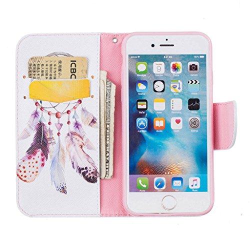 """iPhone 6s Coque, ONLY pour 4.7"""" iPhone 6 / iPhone 6S Housse - MYTHOLLOGY avec Support Housse PU Cuir Étui à rabat Portefeuille Antichoc Cover - DJZ YMFL"""