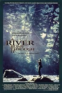 Affiche 'Et au milieu coule une rivière', Taille: 69 x 102 cm