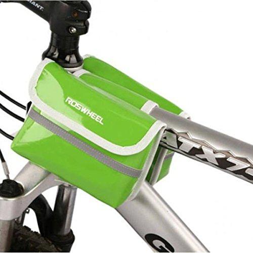Bazaar Tubo anteriore telaio della bicicletta roswheel doppio sacchetto di lato