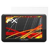 atFoliX Folie für Blaupunkt TravelPilot 53 Cam EU Displayschutzfolie - 3 x FX-Antireflex-HD hochauflösende entspiegelnde Schutzfolie