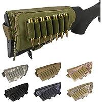 Gexgune Tactical Buttstock Cuancia Resto Munizioni Pouch Fucile Shotgun Stock Munizioni Sacchetto Portatile Shell…