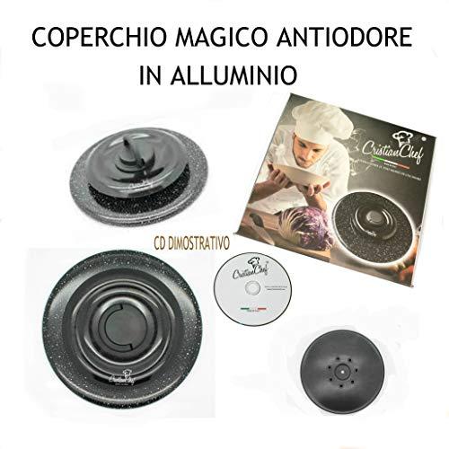 COPERCHIO MAGICO IN ALLUMINIO DN.24 + DVD